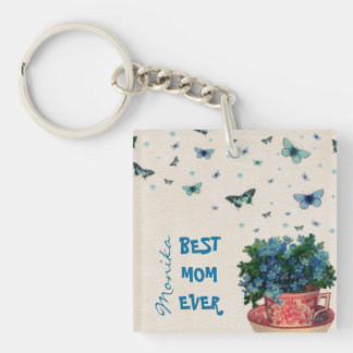 Love Scent - Best Mom Ever Square Acrylic Keychain