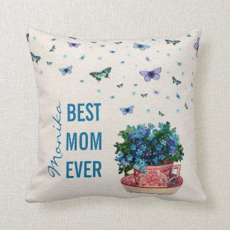 love scent best mom ever throw pillow