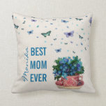 Love Scent - Best Mom Ever Throw Pillows