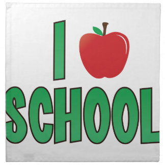 Love School Cloth Napkin