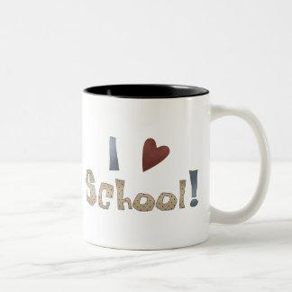 Love School Mugs