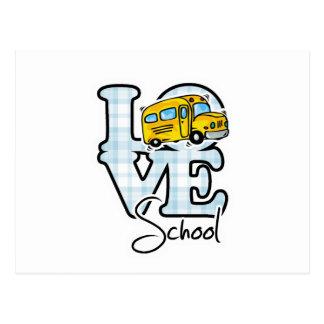 Love School Postcard
