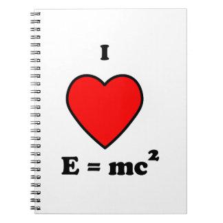 Love Science Notebook