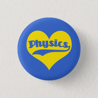 Love Science Physics Button