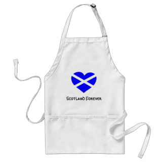 Love Scotland apron