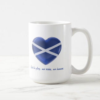 Love Scotland Classic White Coffee Mug