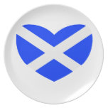 Love Scotland Dinner Plates