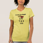Love Scotland Vote Yes Independence Tee