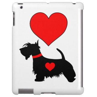 Love Scottie dog iPad case