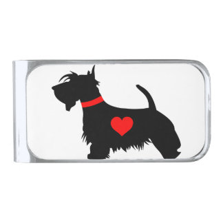 Love scottie dog money clip