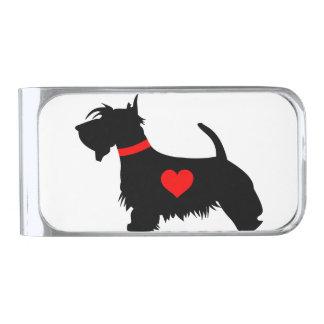 Love scottie dog money clip