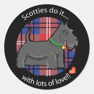 Love Scotty Stickers