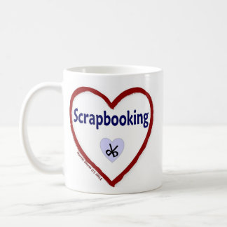 Love Scrapbooking Coffee Mug