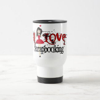 Love Scrapbooking Mug