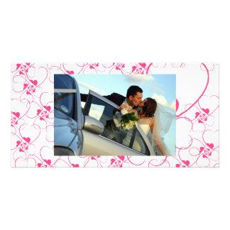 LOVE SCRIBBLES PHOTO CARD