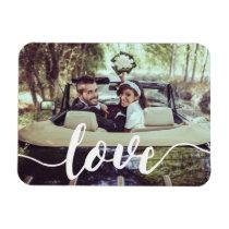 Love Script Overlay Magnet