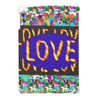 LOVE script :  Romantic Expression iPad Mini Covers