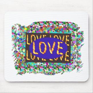 LOVE script :  Romantic Expression Mouse Pad