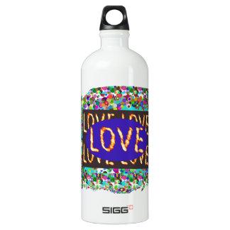 LOVE script :  Romantic Expression SIGG Traveler 1.0L Water Bottle