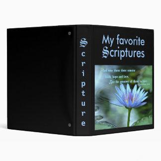 Love Scripture 3 Ring Binders