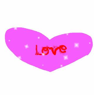 love sculpted magnet