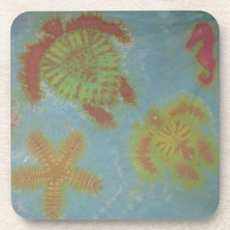 Love Sea Creatures Cork Coasters