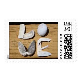 LOVE Sea Shell Stamps