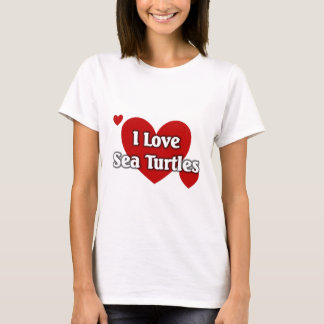 Love sea turtles T-Shirt