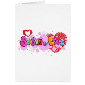 love season card