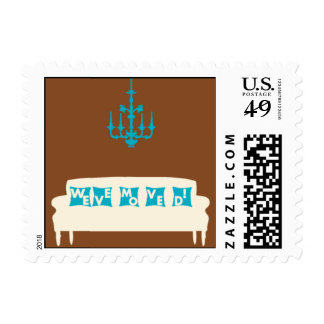 Love Seat Postage Stamps