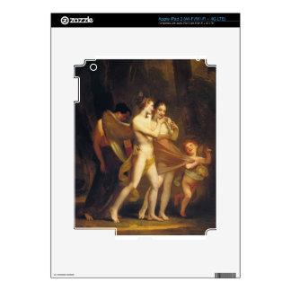 Love Seduces Innocence, Pleasure Entraps, Remorse iPad 3 Decals