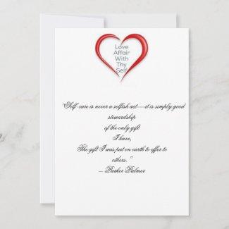 Love Self Card Reminder