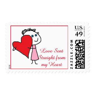 Love sent stamps