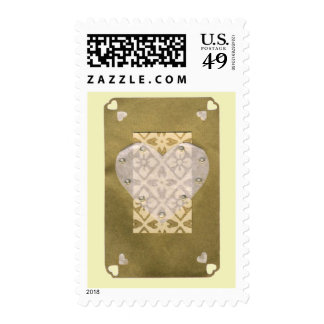 Love  Series  Collage - Heart # 11 Postage Stamp