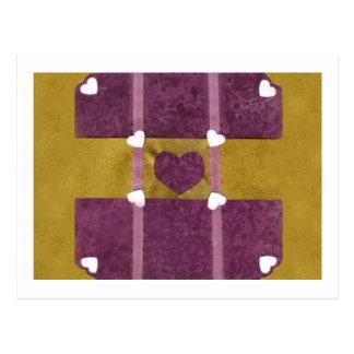 Love  Series  Collage - Heart # 16 Postcard