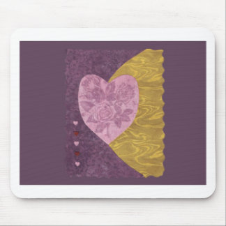 Love  Series  Collage - Heart # 21 Mouse Pad