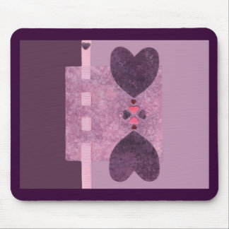 Love  Series  Collage - Heart # 22 Mouse Pad