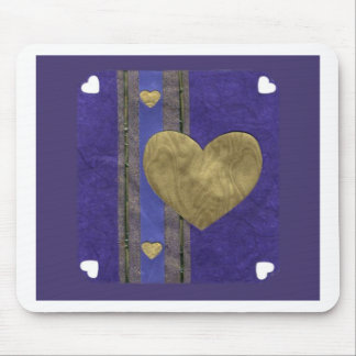 Love  Series  Collage - Heart # 29 Mouse Pad