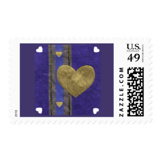 Love  Series  Collage - Heart # 29 Postage Stamp