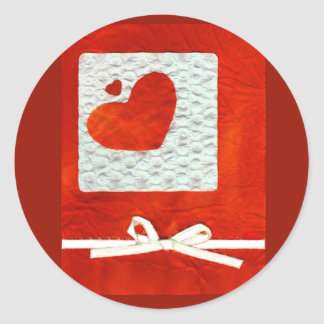 Love  Series  Collage - Heart # 31 Classic Round Sticker