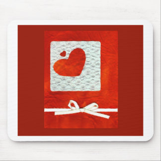 Love  Series  Collage - Heart # 31 Mouse Pad