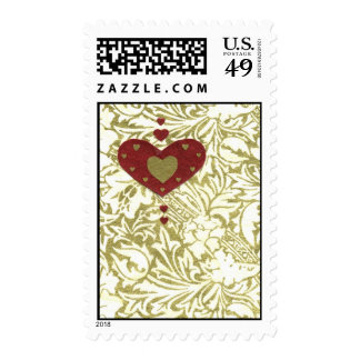 Love Series Collage - Heart # 32 Postage Stamp