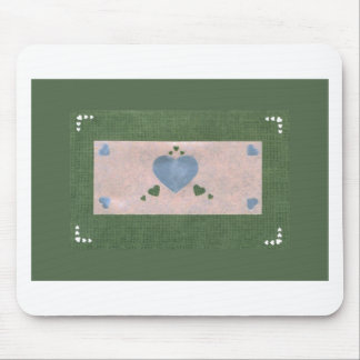 Love  Series  Collage - Heart # 39 Mouse Pad