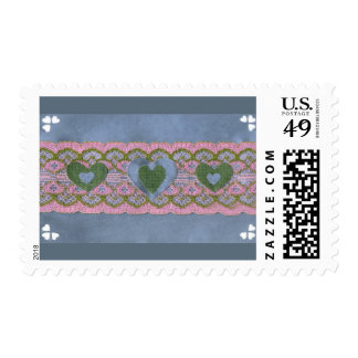 Love  Series  Collage - Heart # 40 Postage Stamps