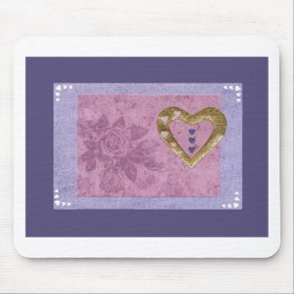 Love  Series  Collage - Heart # 41 Mouse Pad