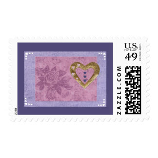 Love  Series  Collage - Heart # 41 Postage Stamps