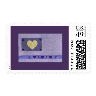 Love  Series  Collage - Heart # 45 Postage Stamp