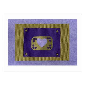 Love  Series  Collage - Heart # 4 Postcard