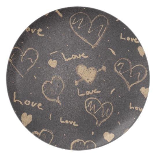 Love Series Plate