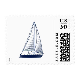 Love Sets Sail Nautical Postage